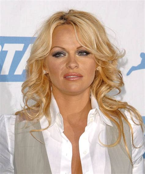 pamela anderson hairstyles hair cuts  colors