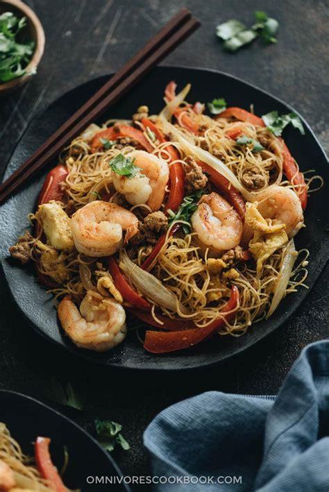 easy singapore noodles omnivores cookbook