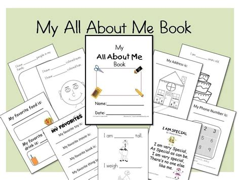 my all about me book by learnandgrow on etsy 297 | il fullxfull.181152981