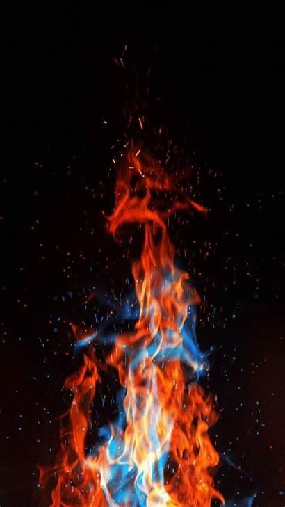 Iphone Fire Flames Wallpapers Iphoneswallpapers Reindeer Fantasy