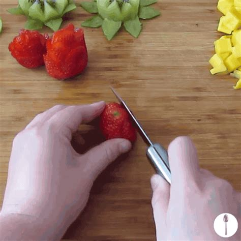 How To Cut Fruit In Fancy Ways With Any Knife