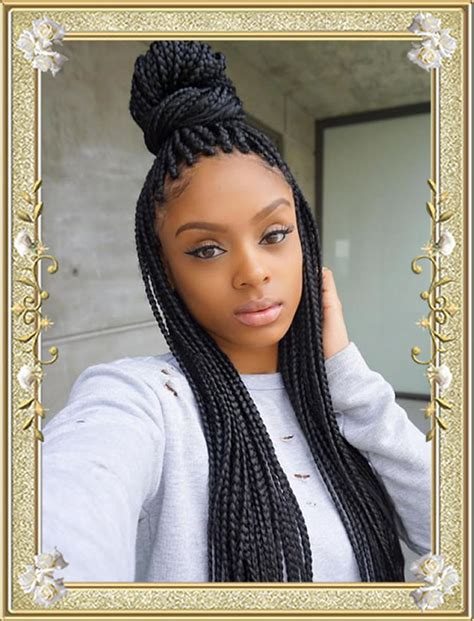 delectable box braids hairstyles  black women