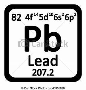 periodic table symbol pb periodic table element lead icon periodic table element - Periodic Table Symbol Pb