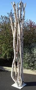 Branches Deco Interieur : sculpture de branches de bouleaux ~ Teatrodelosmanantiales.com Idées de Décoration