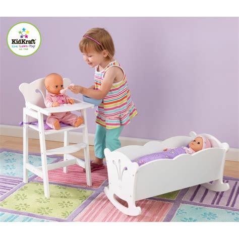 chaise qui se balance chaise haute pour poupée accessoires pour poupées