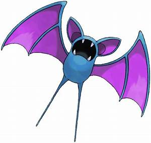 Zubat Pokédex: stats, moves, evolution & locations ...