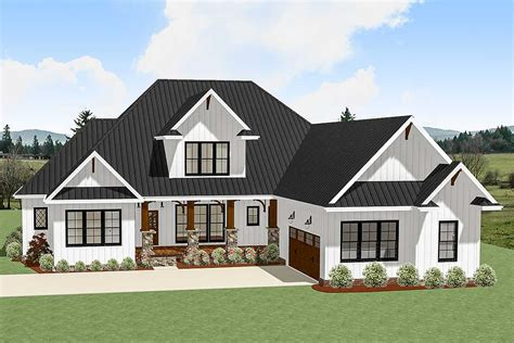 bed country craftsman  garage options la architectural designs house plans