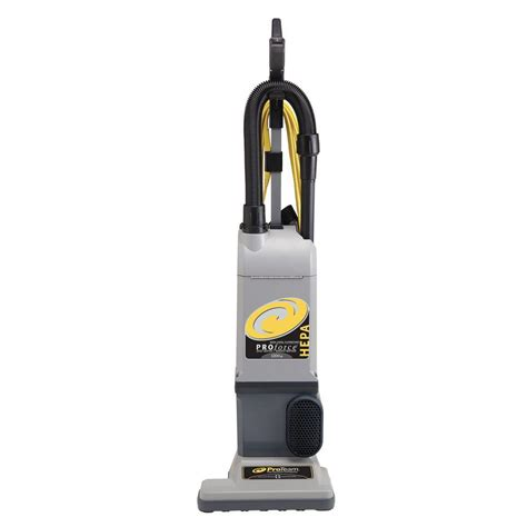 vacuum rental home depot proteam proforce 1200xp hepa upright vac with on board Hepa