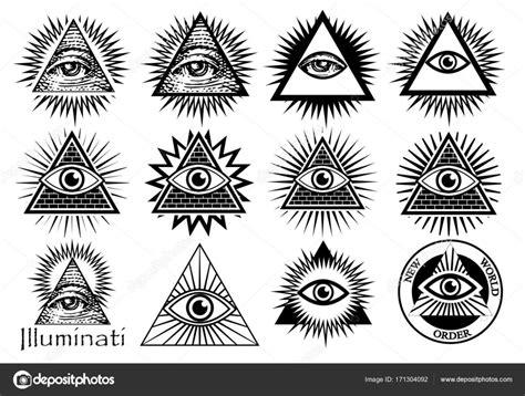 illuminati illuminati illuminati symboler frimurarnas tecken alla seeing eye