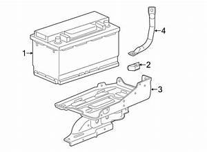 Chevrolet Silverado 1500 Battery Tray  Secondary