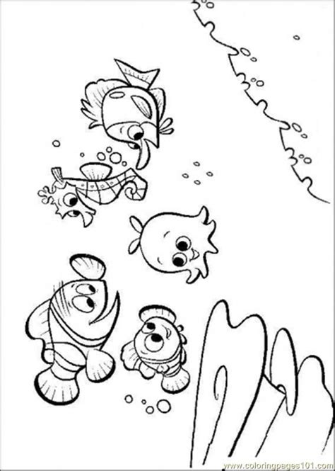 nemo coloring pages  print  printable coloring