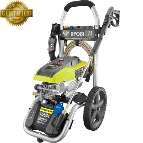 Ryobi Ry142300 2,300psi 12gpm High Performance Electric
