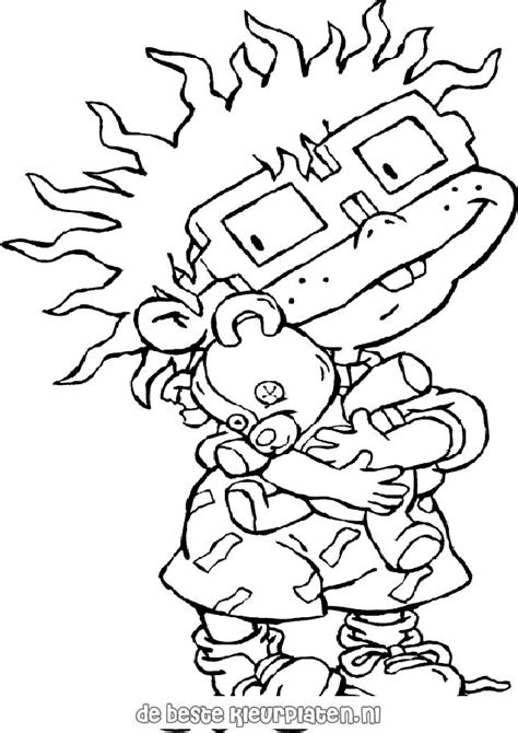 rugrats printable coloring pages