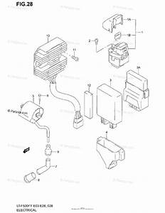 Suzuki Atv 2001 Oem Parts Diagram For Electrical