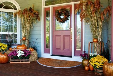 autumn curb appeal   real estate