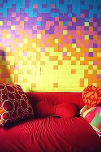 Post It Art : 22 post it crafts post it art diy ~ Frokenaadalensverden.com Haus und Dekorationen