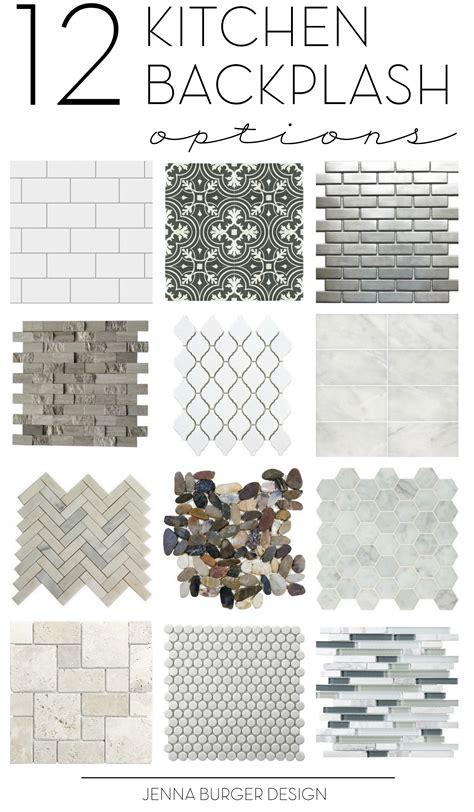 How To Do Tile Backsplash In Kitchen Kitchen Tile Backsplash Options Inspirational Ideas