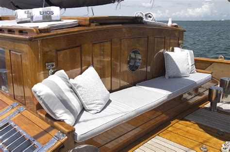 Yacht Eros by Sy Eros Seating Luxury Yacht Browser By Charterworld