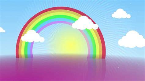 shiny day rainbow  animation background aa vfx youtube
