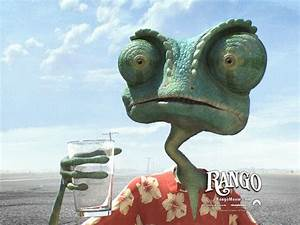 Rango the chameleon - Rango wallpaper 3 - Wallcoo.net