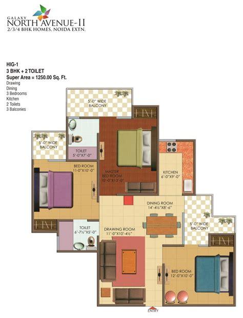 floor plan galaxy north avenue
