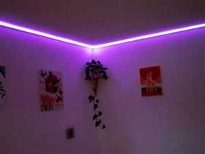 Led Stripes Ideen : led strip rgb in unserem wohnzimmer youtube ~ Sanjose-hotels-ca.com Haus und Dekorationen