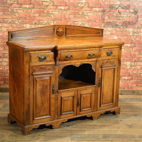 Breakfront Sideboard antique breakfront sideboard oak