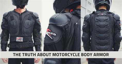 The Truth About Motorcycle Body Armor