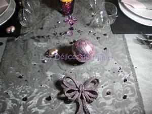 Deco Vieux Rose : ma table de no l en gris argent et vieux rose les d lices de mimm ~ Teatrodelosmanantiales.com Idées de Décoration