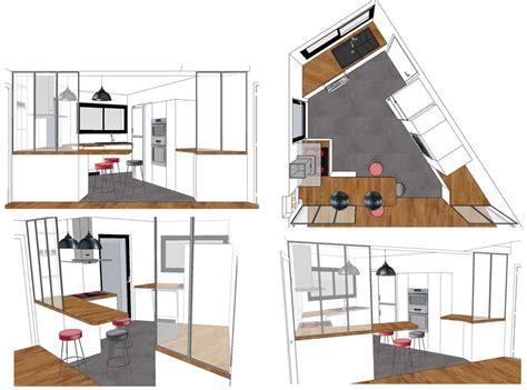 dessiner une cuisine en perspective dessiner en perspective une cuisine les caissons de