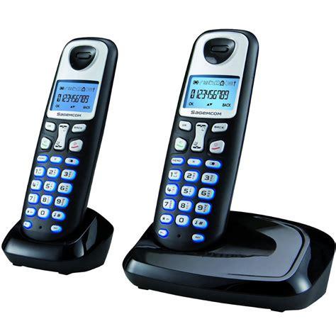 cordless phone sagemcom d210 designer duo dect digital cordless phone ebay