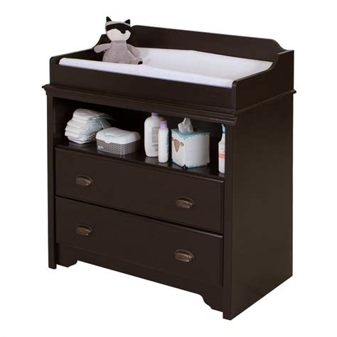 south shore changing table features