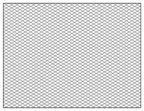 isometric graph paper template     printable
