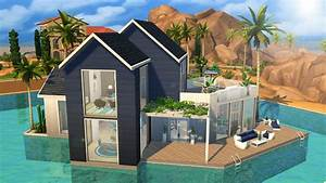 The Sims 4 Speed Build Waterfront Villa YouTube