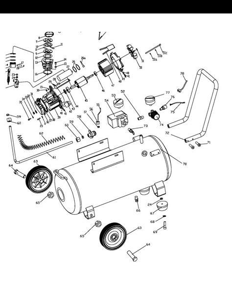 Central Pneumatic Air Compressor 67501, 68740 User Manual