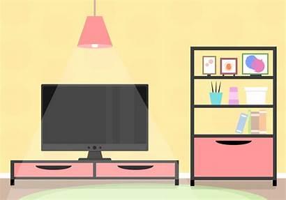 Living Interior Clipart Rooms Vecteezy Graphics Windows