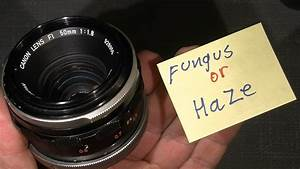 Remove Fungus Or Haze In Canon Fl 50mm 1 1 8     Maybe It