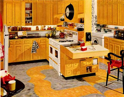 wood used for kitchen cabinets retro kitchen design sets and ideas 1954