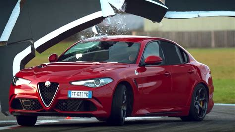 Top Gear Alfa Romeo Challenge by The Alfa Romeo Giulia Wall Challenge Top Gear Series 24