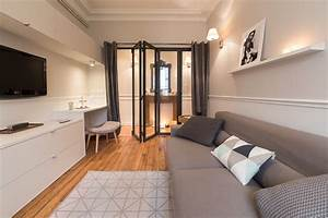 Décoration Appartement Moderne : paris x canal saint martin appartement 47m2 moderne ~ Nature-et-papiers.com Idées de Décoration