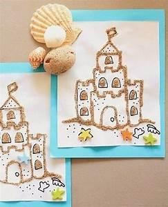 Sommer Basteln Kinder : bilder mit sand mit kindern basteln dekoking com sommer mit kindern pinterest basteln ~ Orissabook.com Haus und Dekorationen
