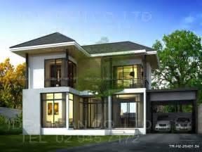 Modern 2 Story House Plans Designs