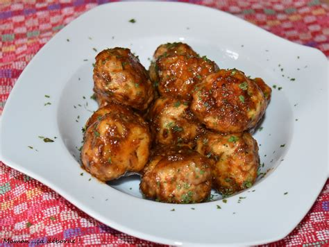 cuisiner chair à saucisse boulettes de volaille et chair à saucisse au miel et au