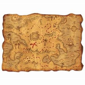 Pirates Treasure Map - PartyCheap