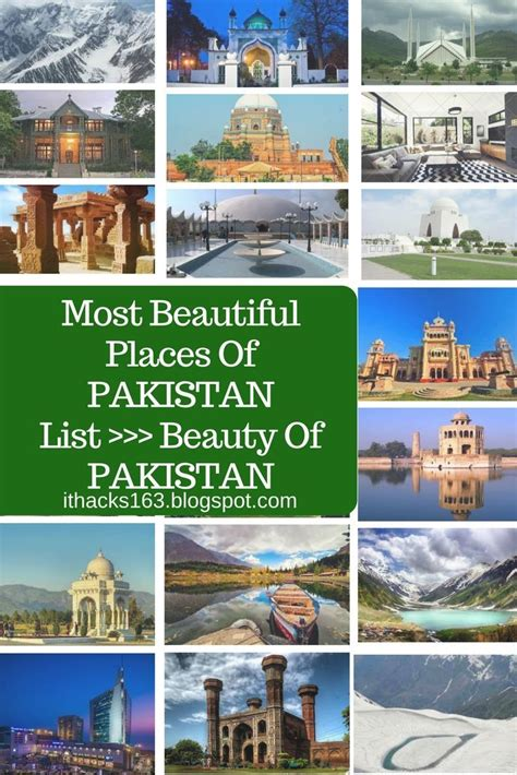 Most beautiful places of Pakistan list - Beauty of ...