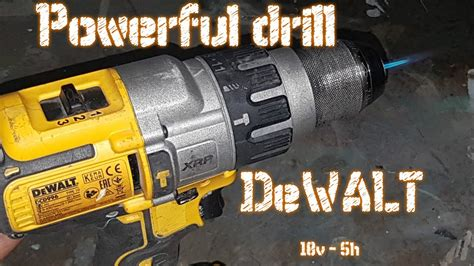 Powerful Drill Great Empirical Proof Dewalt Dcd996p2-qw