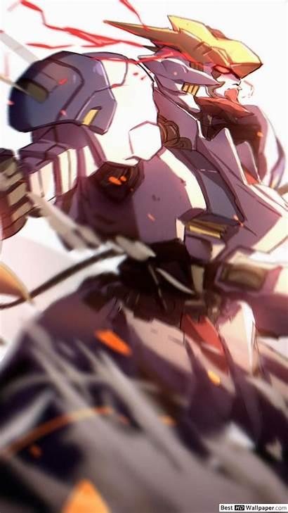 Gundam Iron Orphans Barbatos Lupus Rex Blood