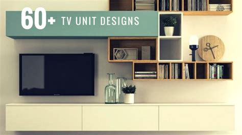 60+ TV Unit Design Inspiration - The Architects Diary