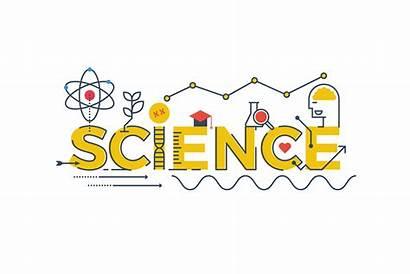 Science Word Illustration Stem Vector Technology Mathematics