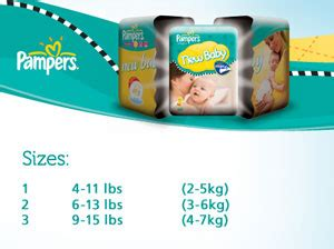 pers size 2 nappies weight pers new baby size 1 4 11 lbs 2 5 kg nappies 2 x